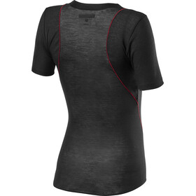 Castelli Prosecco Tech Baselayer A Maniche Corte Donna, black